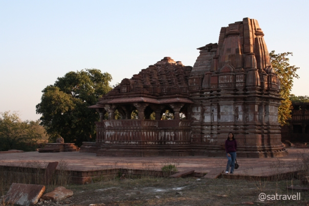 One of the temples constructed by the Chahamana Queen, Suhiya Queen in the twelfth century