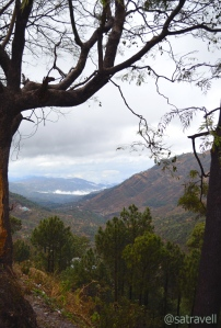 Valley view from Kandaghat on the NH22