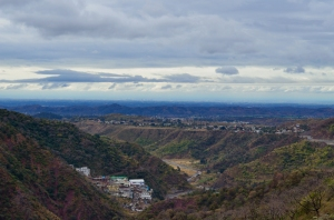 Shivalik Hills merging with the plains at Pinjore. Captured (later) from a point near Dharampur