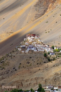 One of the most important Monastic schools in the Spiti Valley, the Ki Gompa is claimed to have been built in the eleventh century.