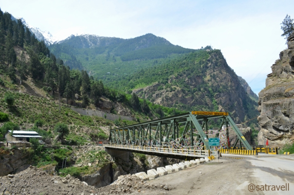 Shongtong Bridge over Sutlej