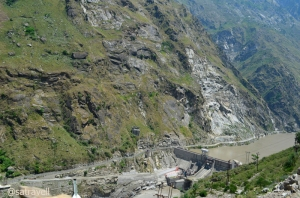 Hydropower station at Wangtu