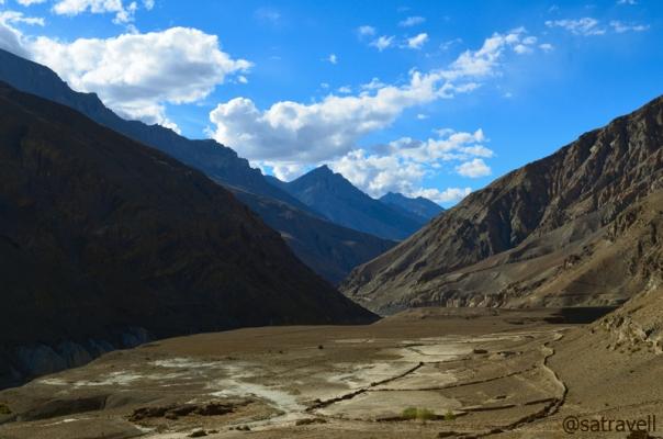 The Lingti Gorge