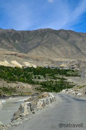 Village Shialkar comes into view