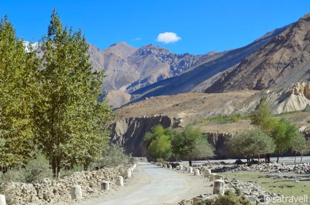 Road through village Sichling