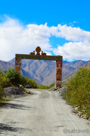 Leaving Losar