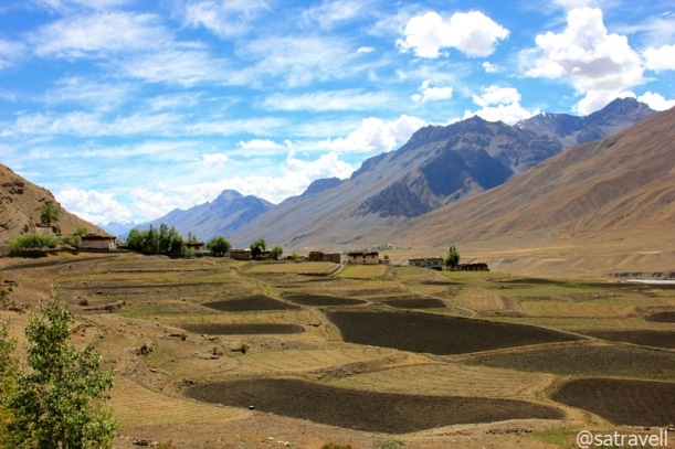 Landscape at village Ki
