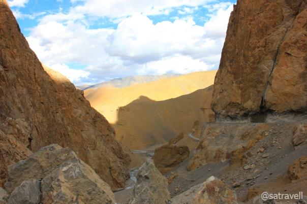 Lachalung Gorge