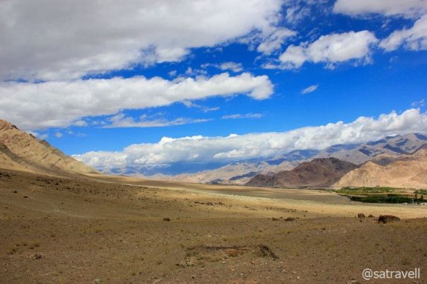 Landscape captured near Hemis flats.