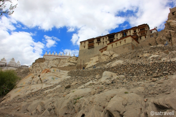 The Shey Monastery and Palace, the summer residence of the royal family of Ladakh