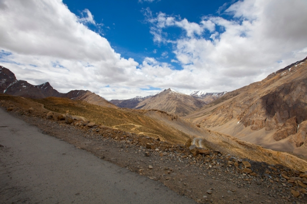 Landscape towards Western Lahul; Pk 5326 in sight
