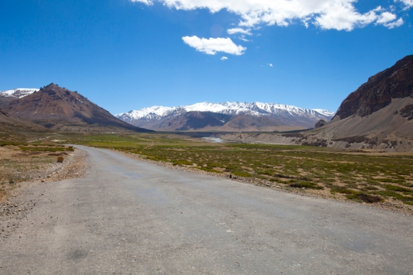 Leaving Sarchu Plains. Captured later by Sarabjit Lehal