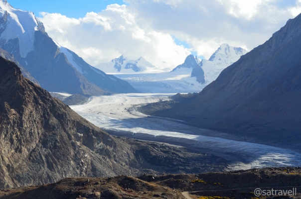 The Darung Drung Glacier and Pk 5835 m at its head