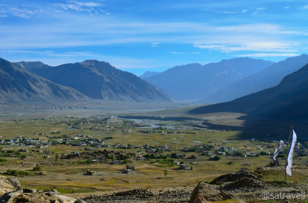 A panoramic view of Doda; Zanskar Valley