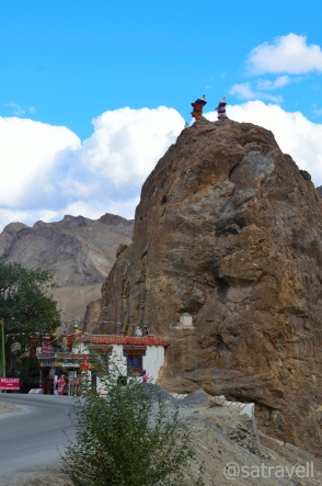 Coming from Leh, Mulbekh also serves as the tail-end of Buddhism on The Treaty Road