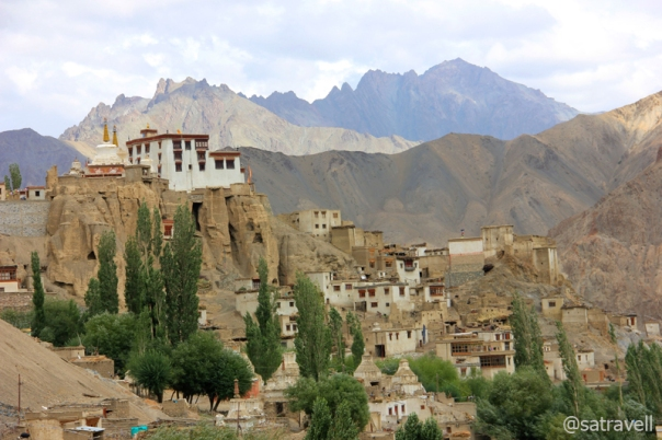 The Lamayuru Monastery