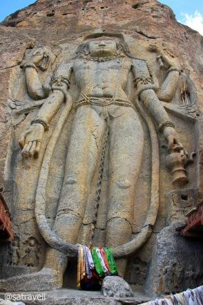 The Maitreya Buddha at Mulbekh