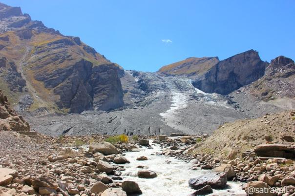 Parktik Glacier and Parkachik ravines