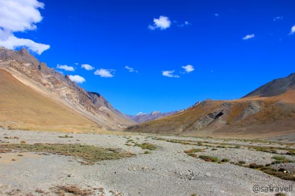 Village Tashi Tongtse in the Paldar Tokpo valley