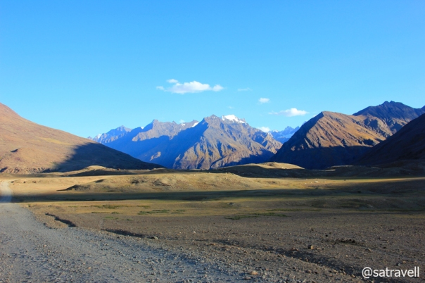 Landscape ahead; captured near Chim Khurmo