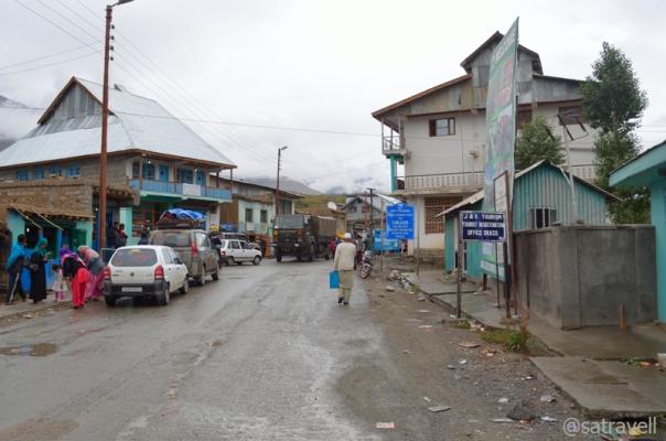 The Main Market of Drass
