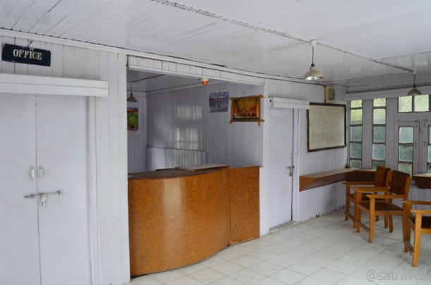 "The ""deserted"" JKTDC Office at Drass"