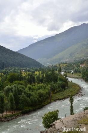 Landscape near Kulan