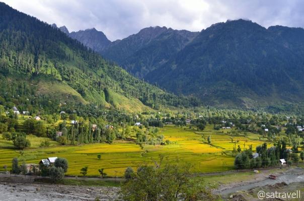 Landscape near Gund