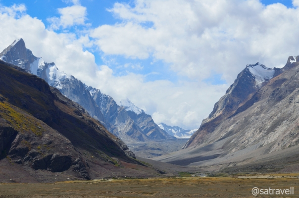 Kange Glacier giving rise to Kange Tokpo