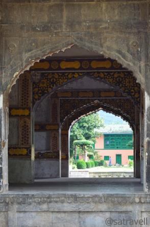 Galleria of Diwan-e-Khas;