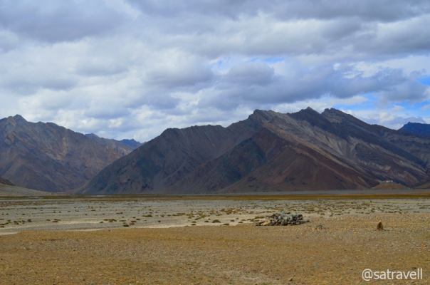 Rangdum Valley; approaching from Pensi La