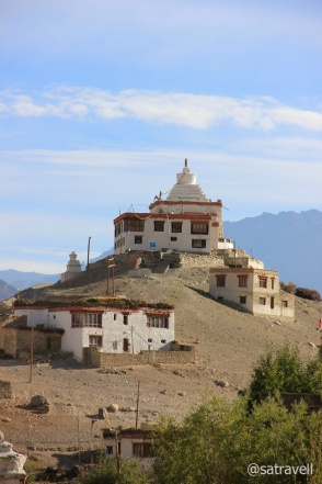 The Starrimo Gompa or Guru Mandir as known locally.