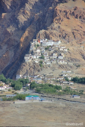 The Karsha Monastery