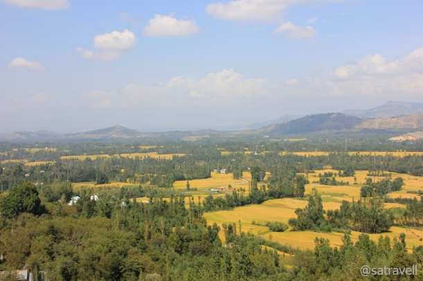 "Vale of Kashmir; as viewed from the ""Titanic View Point"""