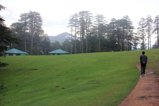 Patnitop: ...the air is cool and still, and the hills are high and stretch away to heaven