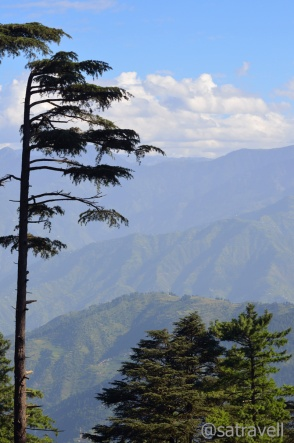 Morning view at Patnitop
