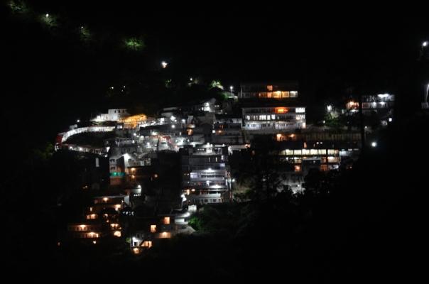 A look towards the main Shrine of Maa Vaishno Devi