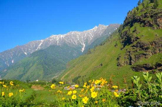 View towards the Beas Valley