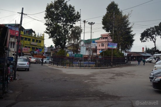 The Gandhi Park chowk also marks the Main Market