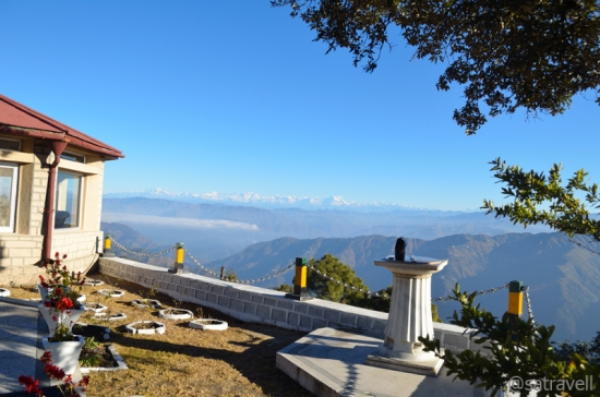 View of the Great Himalayan Range from the Dial