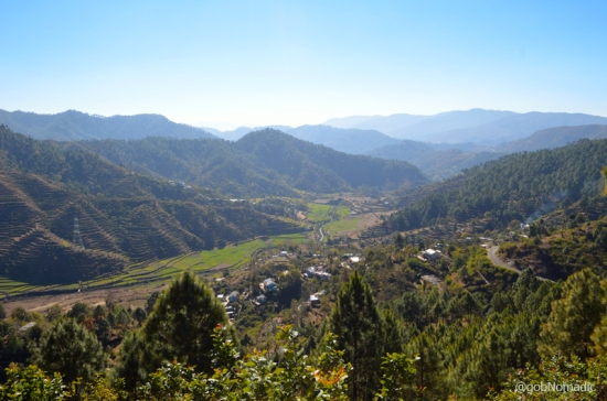 The fertile Nayar Valley