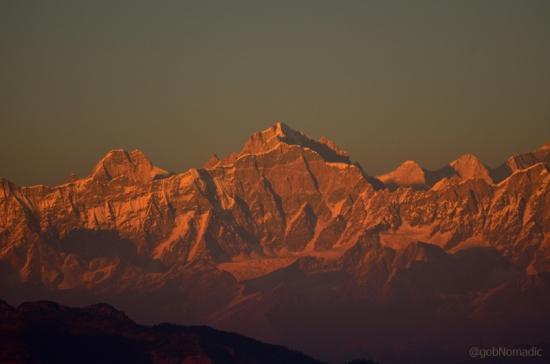 The glittering Kharcha Kund 6613 m