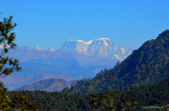 The Hathi Gorhi Parbat massif
