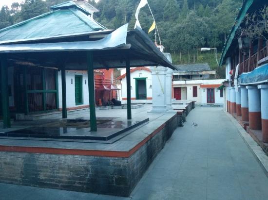 A Havan Kund inside the Kyunkaleshwar temple complex
