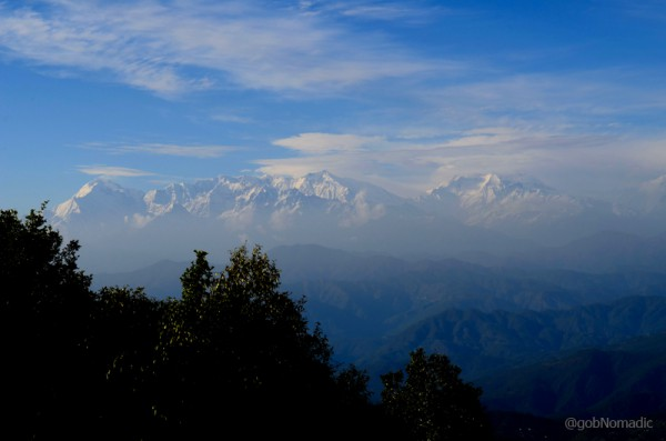 Trishul and Mrigthuni from the Binsar Wildlife Sanctuary