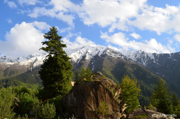 this is the most romantic of the Himalayan valleys and it is difficult to imagine a more beautiful spot