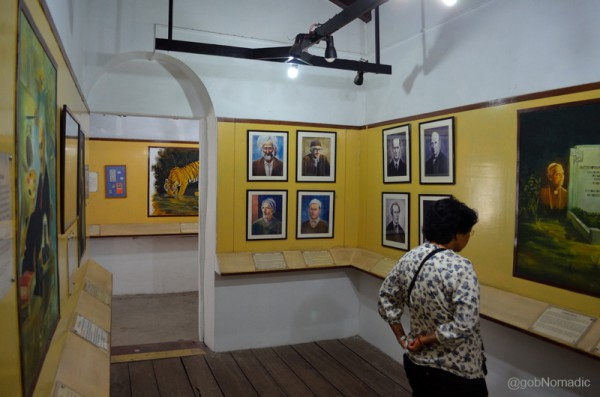 The museum showcases paintings, his belongings, photographs and Corbett's letters, etc.