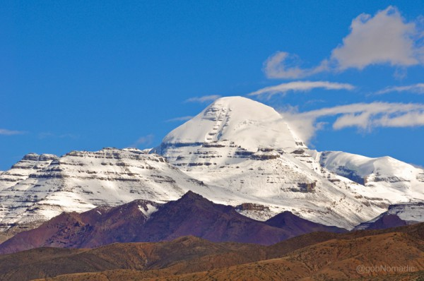 The holy Kailash. In its mystical form, this isolated holy mountain, 6638m (or 21,778ft) in altitude, is known as Meru; in its earliest of manifestations it was Kailas – the 'crystal' or in local parlance Kang Rinpoche – jewel of snows.