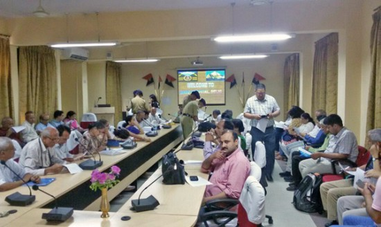 After the briefing session at the ITBP Base Hospital