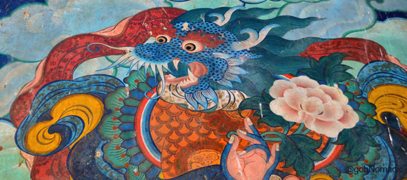 Miyunam Duki Gochhen (the Dragon headed Blue Human)